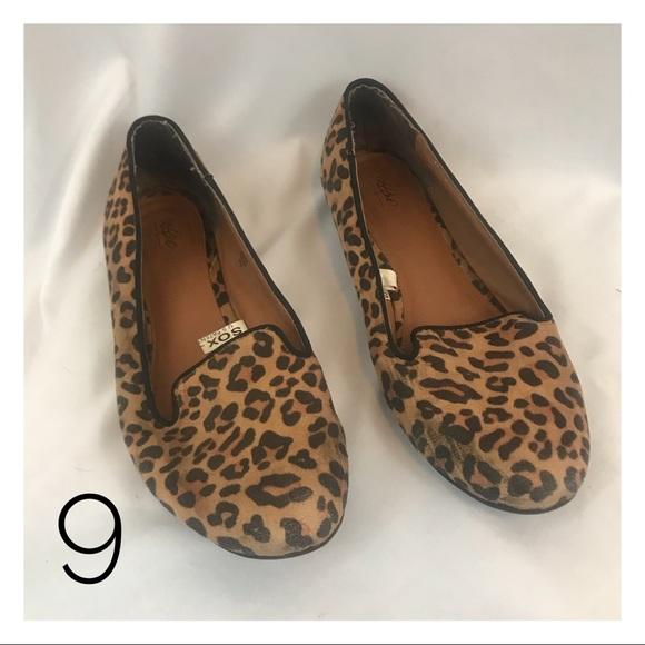 5cdaa0c54abb Mossimo Supply Co. Shoes | Mossimo Womens 9 Leopard Print Flats Cute ...